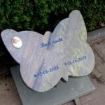 Azul vlinder algemeen kindergraf A012