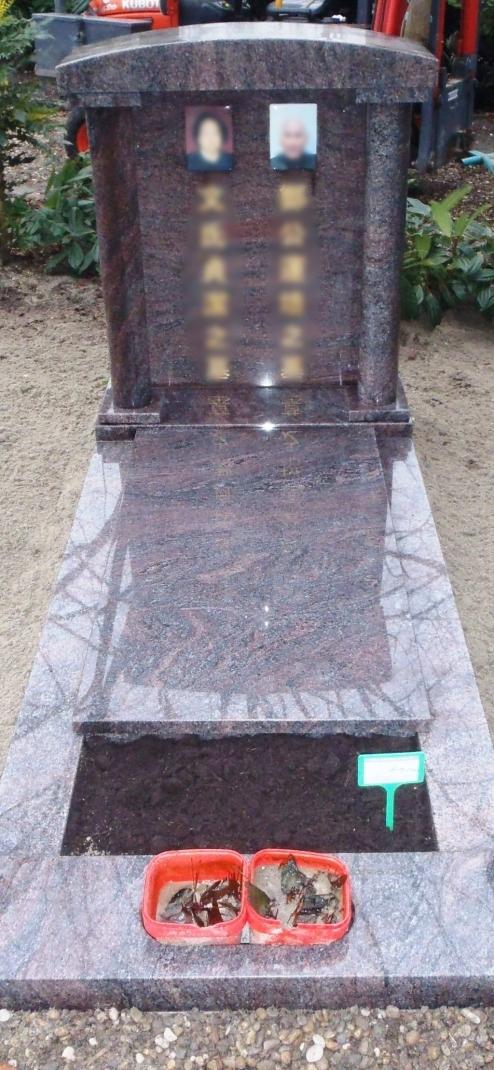 Chinees graf in geheel Paradiso graniet CH002