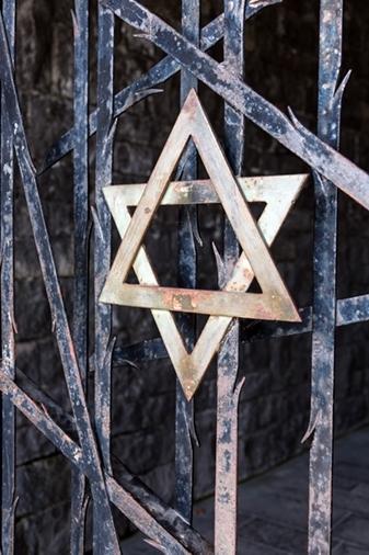 De David ster is het bekendste Joodse symbool
