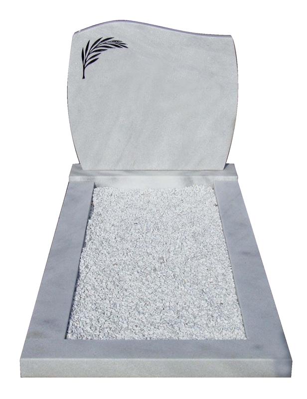 Geheel Wit marmer met wit marmersplit AB025