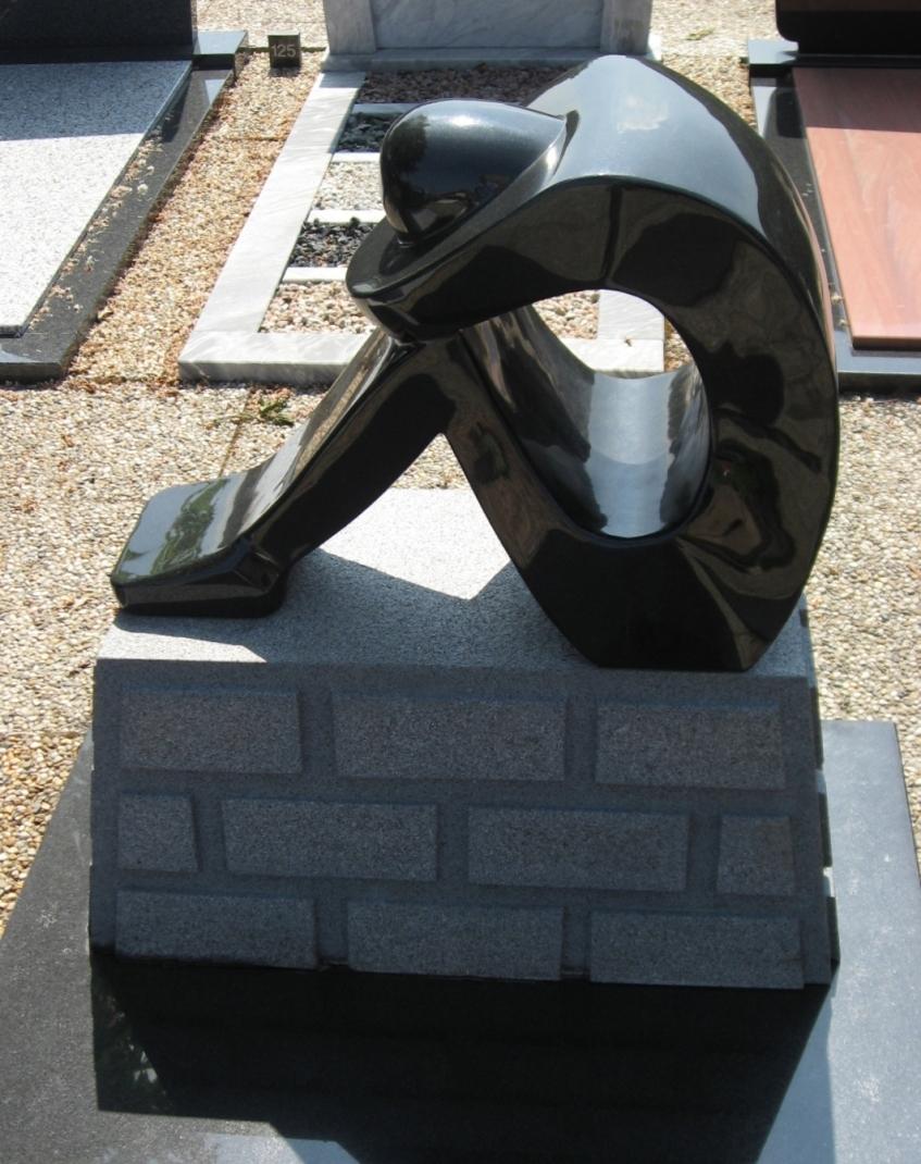 Grafsteen voor eigen graf E047