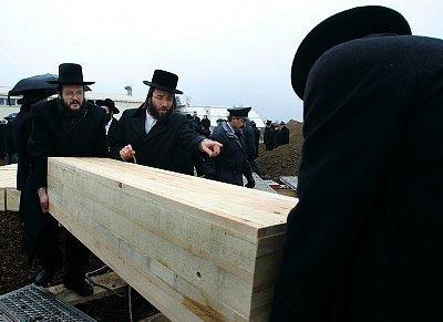 Joodse begrafenis