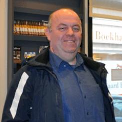Reinier Temminck - chauffeur steller werkvoorbereider