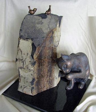 Urnen in verschillende materialen en vormen U001