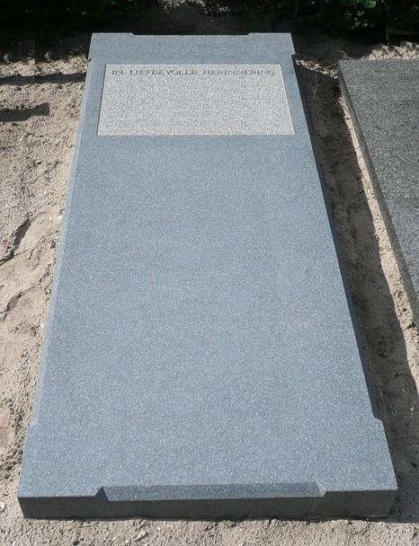 Impala graniet gezoete zerk met profielen AB093