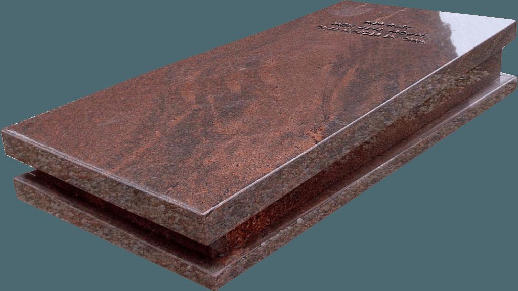 Zerk Zwart graniet gezoet rondom ruw gekapt AB092