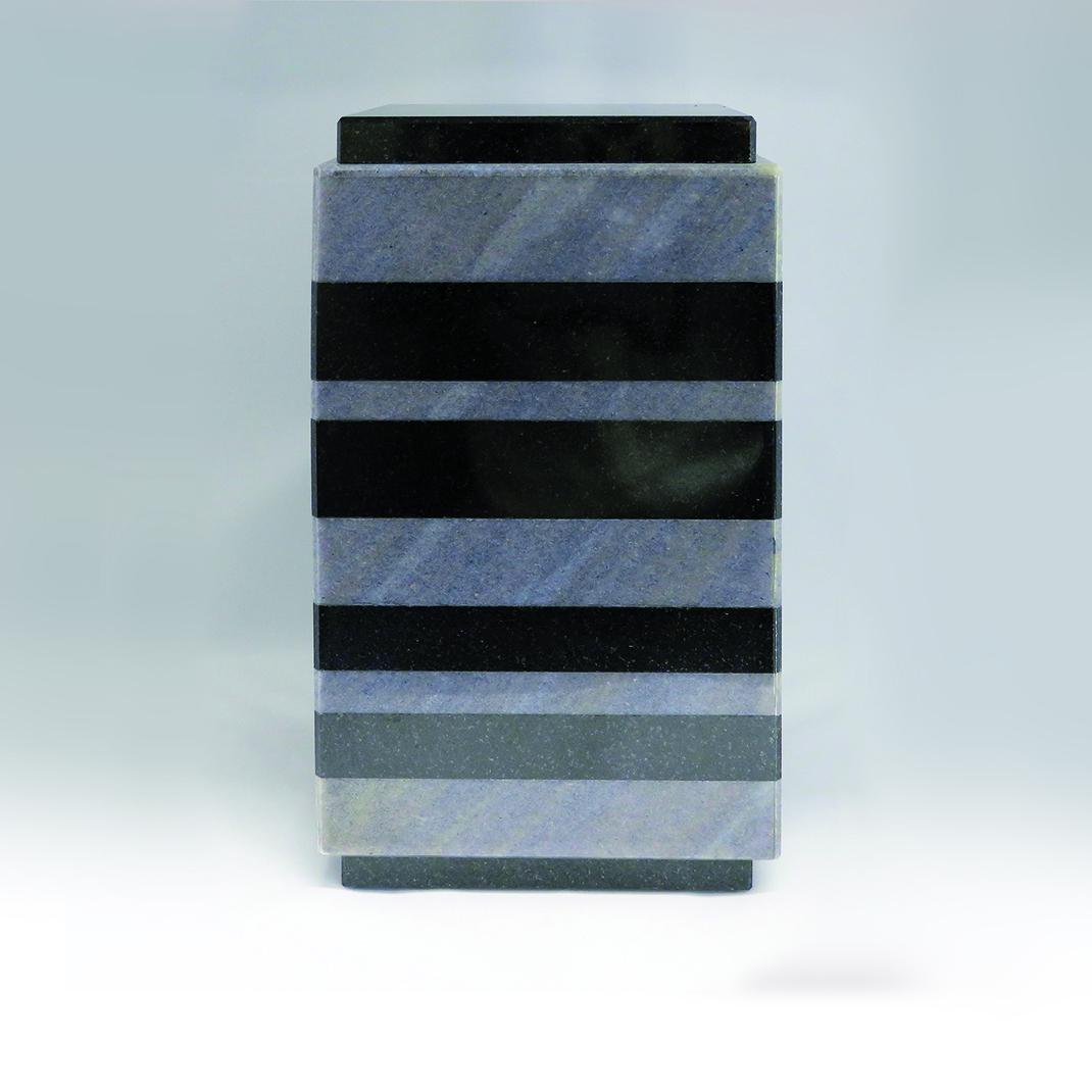 urn zwart graniet en azul imperial graniet UB014